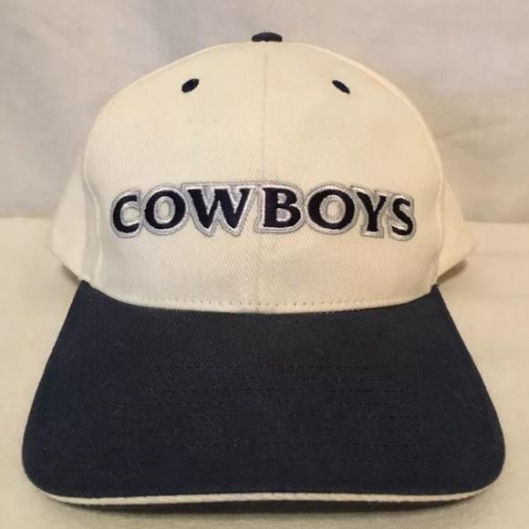 709aec465 Vintage 90 s Dallas Cowboys SnapBack Hat
